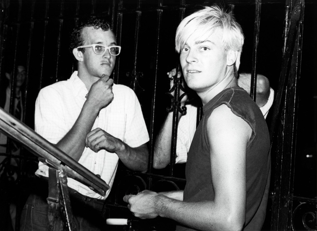 23. Keith Haring and John Sex B&W | MadeGood